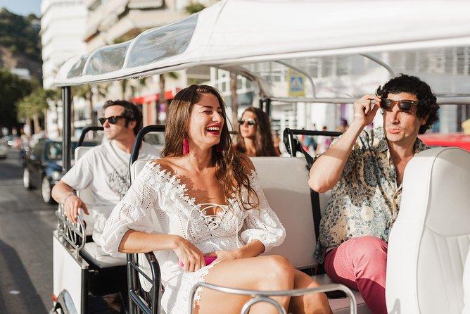 Malaga expert tour by electric tuk-tuk