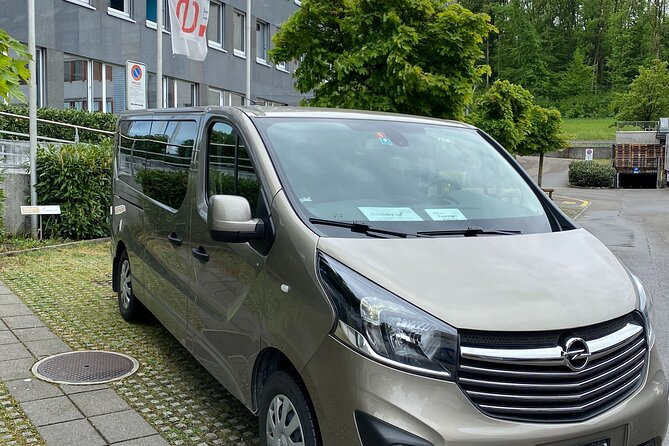 Private transfer from Lucerne City to Zurich Airport