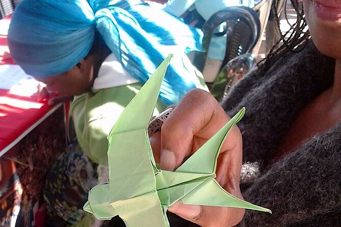 African Origami & Origami Earrings class