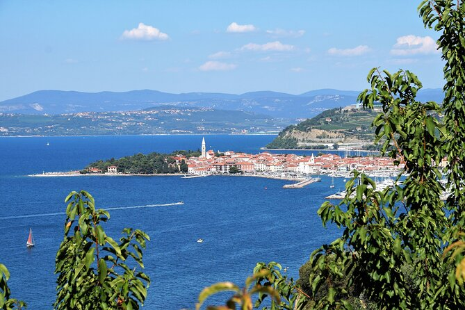 Piran and Panoramic Slovenian Coast from Porec