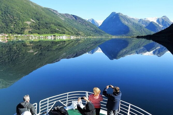 Fjord & Glacier Tour - From VOSS