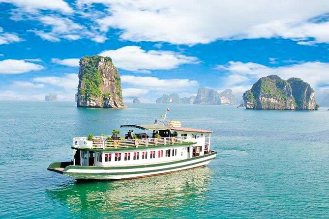 Bai Tu Long Bay Full Day Trip: Kayaking, Swimming, Cave, Fishing villages, Lunch