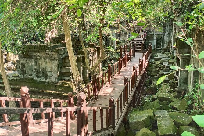 Private One Day Adventure to Beng Mealea and Kompong Khleang