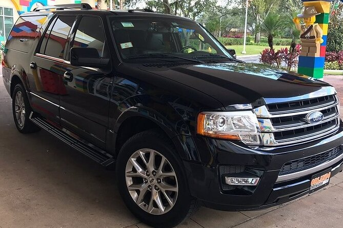 Private transfer from Orlando Airport to hotel (WDW, Int.Drive, LBV) up to 6 pax