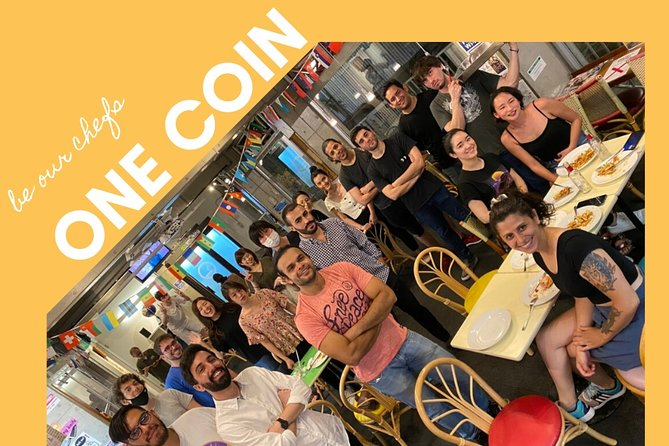 One Coin Cooking Party :@ Kitchen Yomoda make friends with the locals