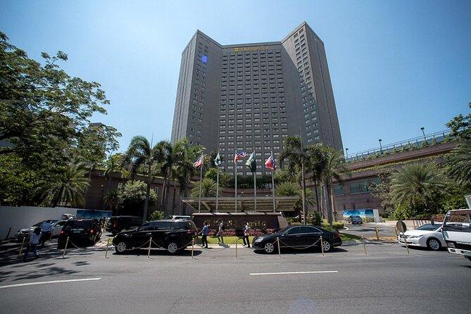 Private Departure Transfer: Manila Hotel to Ninoy Aquino International Airport
