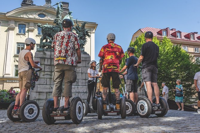 Stockholm by Segway