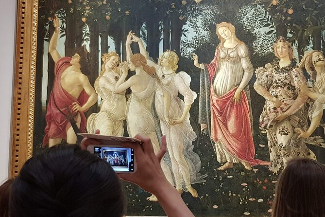 Skip the Line: Small group Uffizi Masterclass by an Art Expert