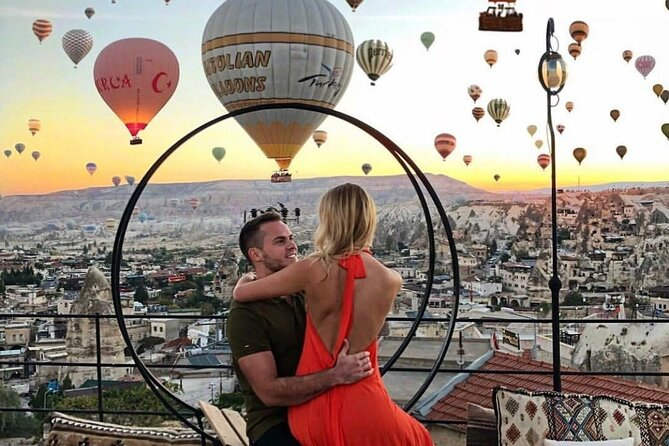 Private Tour of Cappadocia Highlights with Hot air Balloon Tour