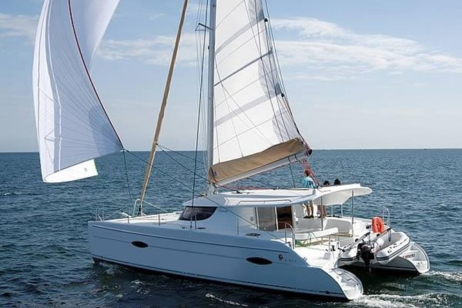 Sailing vacation on a catamaran