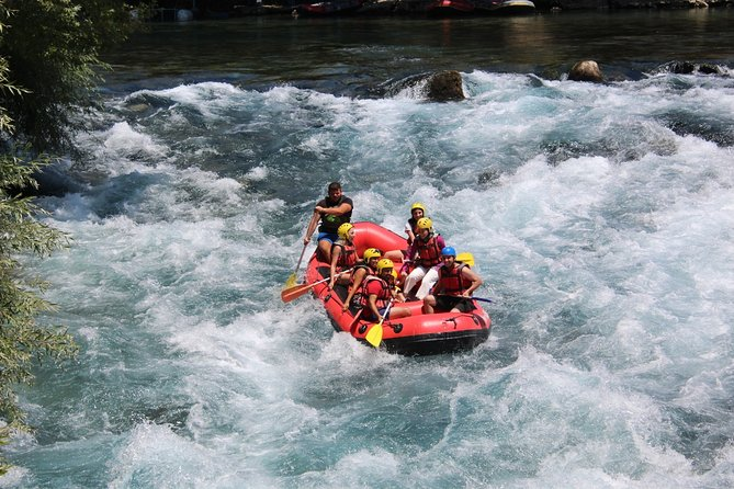from Alanya: Whitewater Rafting at Koprulu Canyon