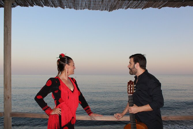 Flamenco evening and barbecue by the sea at the Blue Dolphin Beach Club