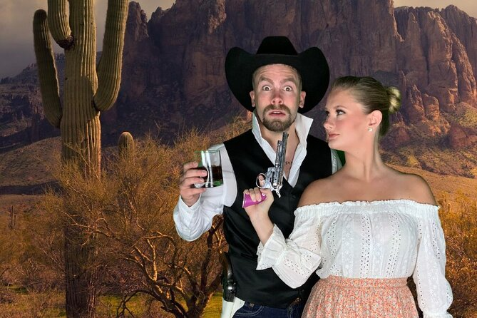 Who Shot The Sheriff Murder Mystery Show Admission with Dinner
