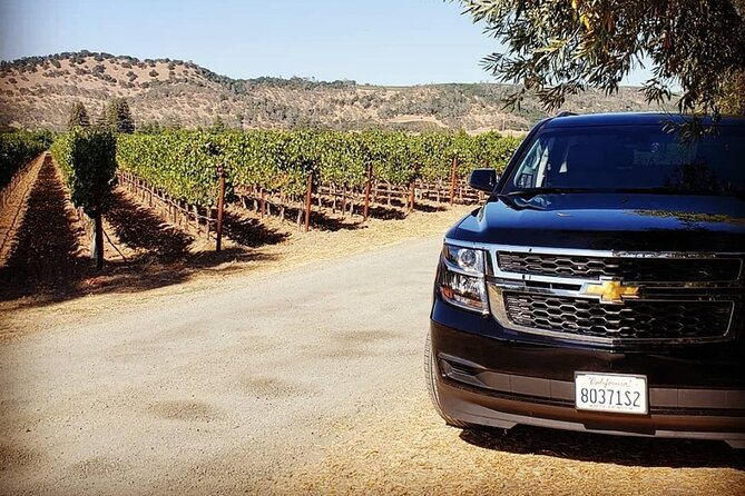 Custom 8-Hour Napa Valley Wine Tour in a Luxury Vehicle