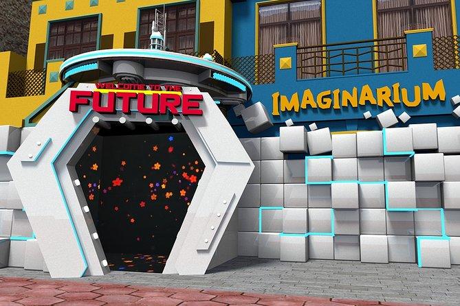 Spring over linjen: billet til billetbillede til tidsrejse til imaginarium