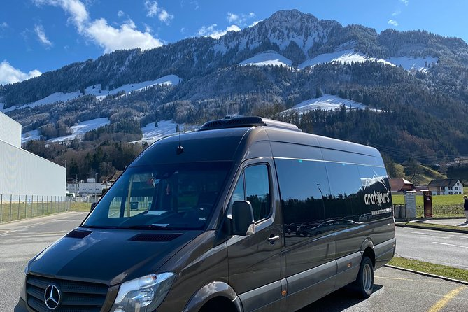 Private Arrival Transfer: from Zurich Airport to Engelberg