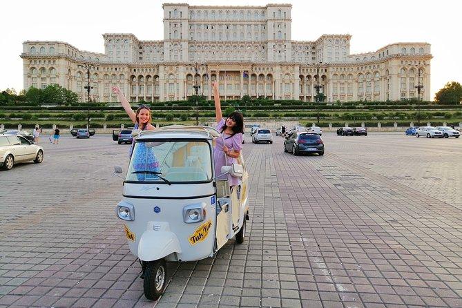 Private Panoramic Tuk Tuk Tour in Bucharest