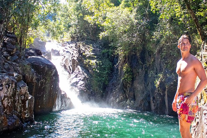 Chasing Waterfalls in the Whitsunday's Full Day Tour