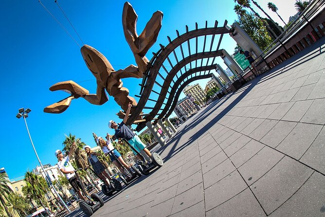 Segway Tour & Sailing Experience Barcelona From Port Vell