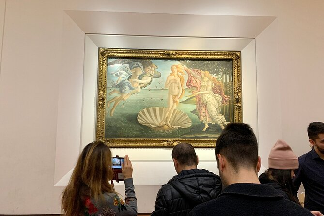 Uffizi Gallery Small Group Tour with Guide