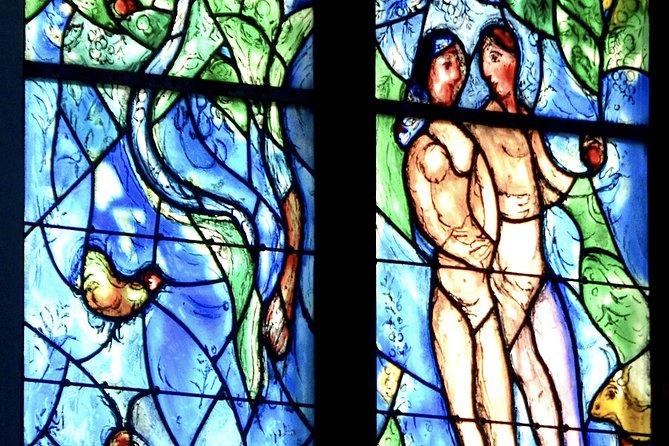 St. Stephan's Chagall window - Adam and Eve