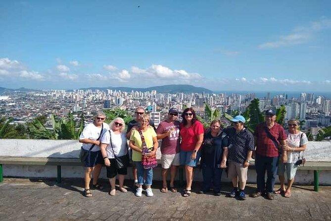 Tour De 7 horas Em Santos Compartilhado – Monte Serrat, Museu Pelé E Café, Praias, Centro