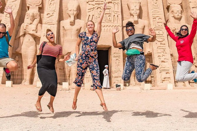 Day trip to Abu Simbel from Aswan by Bus
