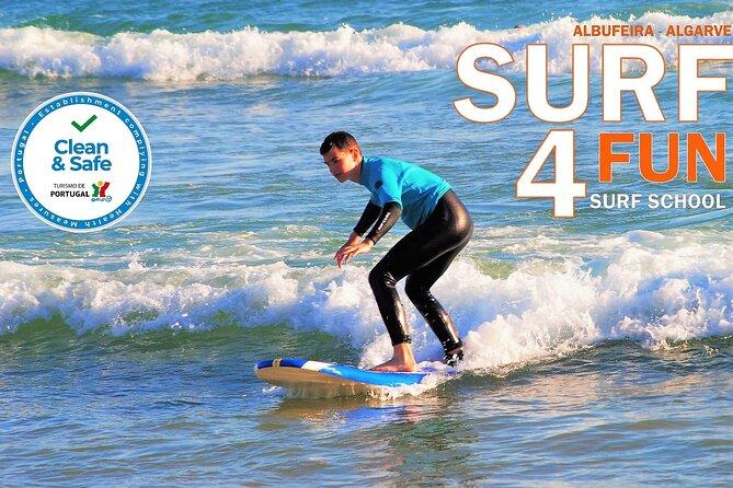 Albufeira Surf Lesson