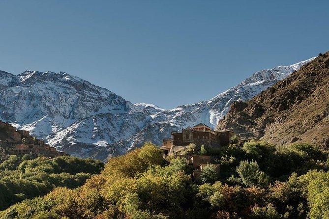 Marrakech : Atlas Mountains and Three Valleys Half-day Tour