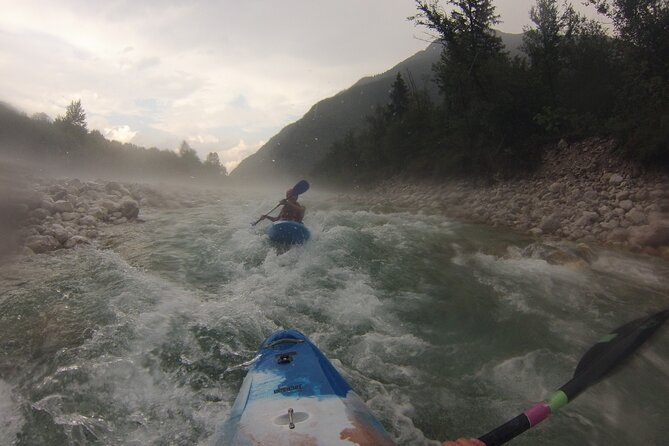 5 DAY KAYAK CLASSES on the Soča river