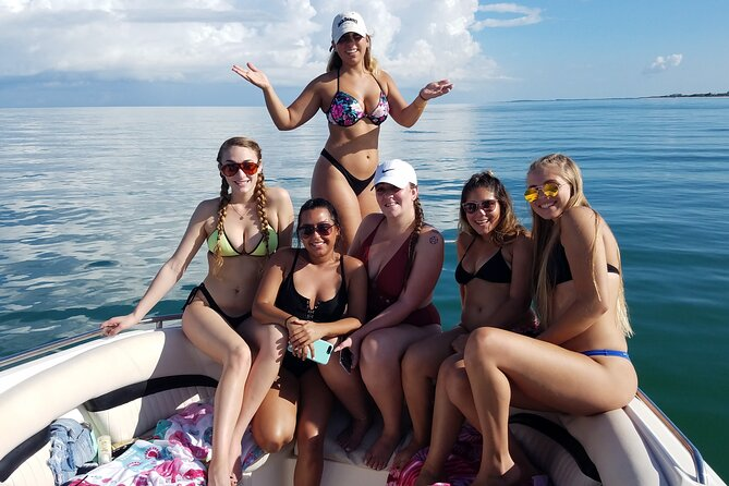 Graduation parties on the boat!