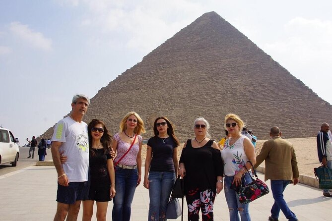 Day Tour Pyramids of Giza and Dahshur from Cairo