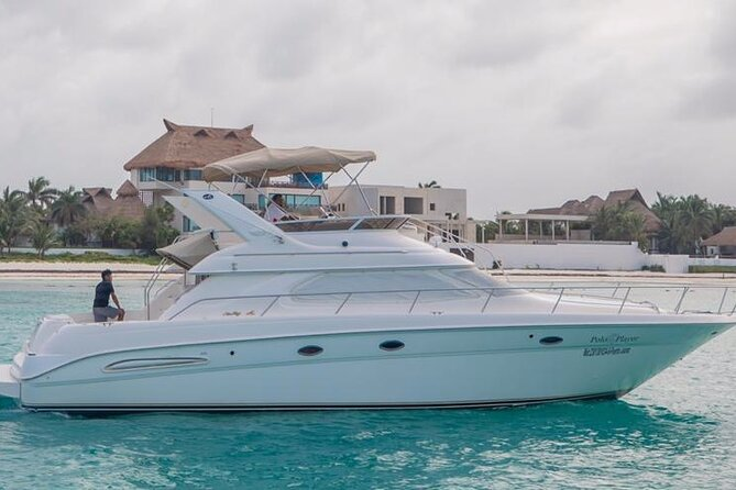 Private Yacht Rental Sea Ray 46ft Cancun 23P3