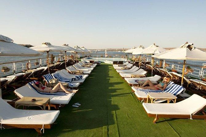 3 nights luxor&Aswan Nile cruise, hot air balloon and abu simbel from hurghada