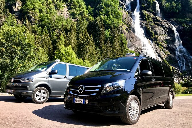 Taxi from the airport and stations for Pinzolo and Madonna di Campiglio