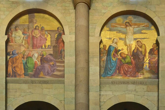 Murals in the cathedral