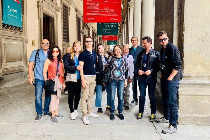 Uffizi Gallery Semi Private Tour (9 Person)