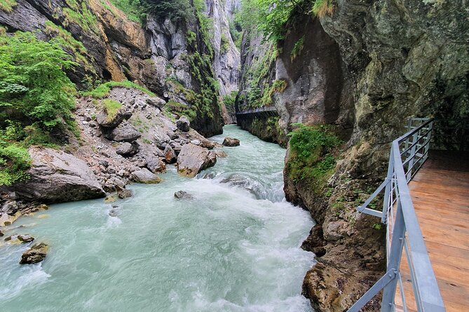 Aare River Gorge Walk Small-Group Tour from Interlaken