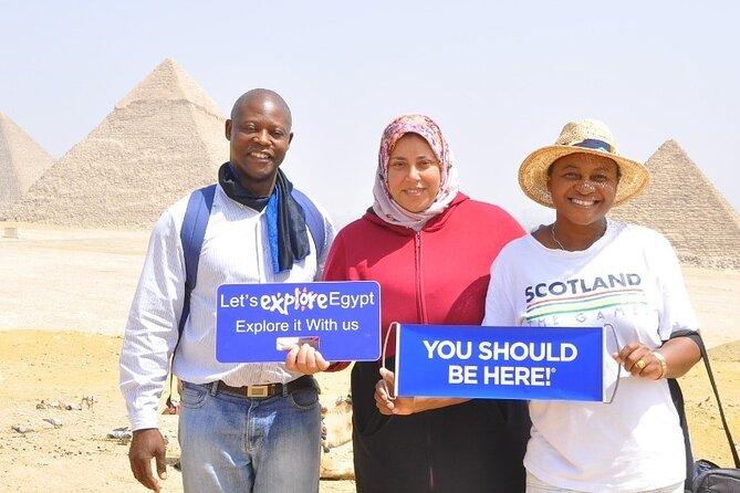 Unique Tour to Giza pyramids,Sphinx, Sakkara, Dahshuh,Memphis, Lunch,Camel Ride