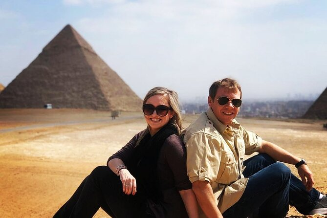 8 Hours Day Tour Giza Pyramids , Sphinx , Memphis Saqqara with Camel Ride Lunch