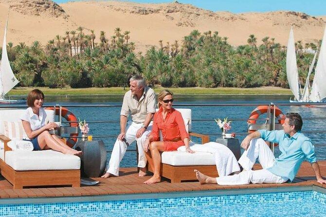 4 Days Nile Cruise Aswan & Luxor Hot Air Balloon and Abu Simbel From Aswan