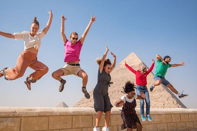 private guided Day Tour To Cairo from Sharm El Sheikh by plane.special day