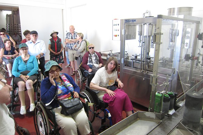 See how wine is made and bottled - accessible winery
