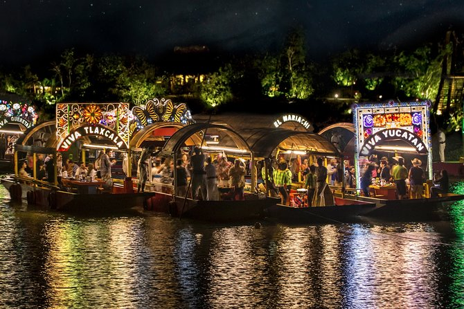 Xochimilco Park: Ticket with Transportation from Cancun and Riviera Maya