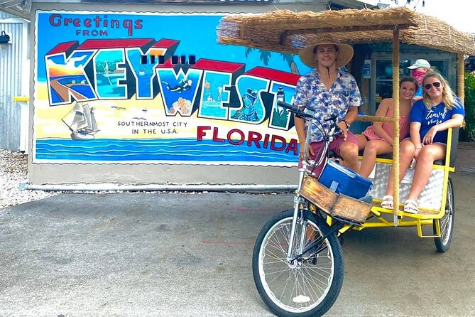 Private Key West History and Culture Tiki Bike Experience