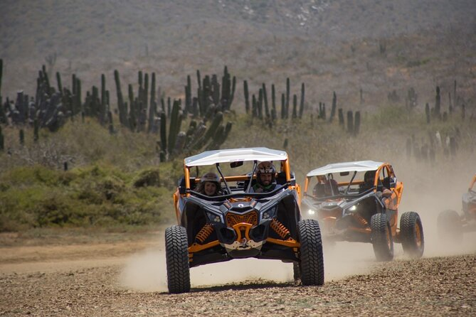 Race the Baja 1000 like the pros on the Migrino Desert & Beach RZR Tour