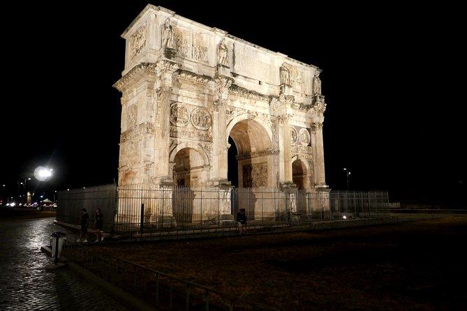 Ancient Rome at Dusk: Colosseum & Roman Forum Walking Tour