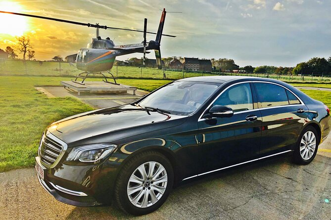 Private transfer from Brussels Airport <-> Gent MB S-CLASS 3 PAX