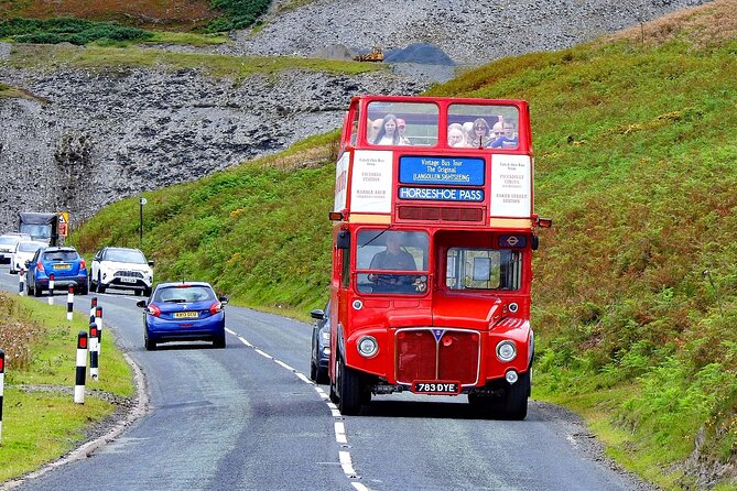 Llangollen & Horseshoe Pass Sightseeing Tour.