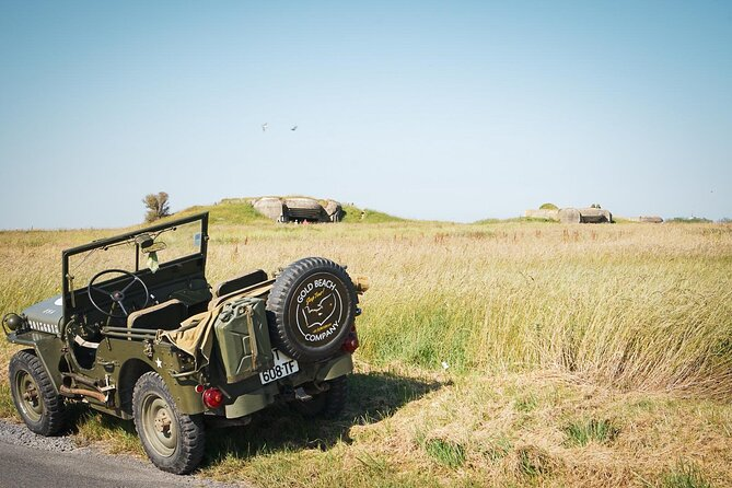Normandy WW2 Full Day Classic Jeep Tour